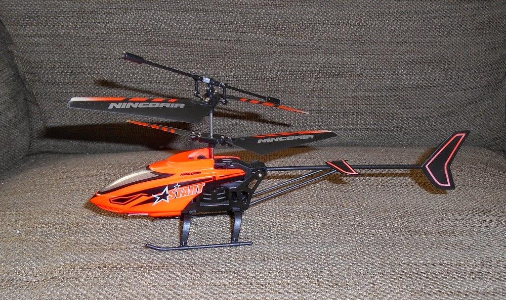 helicóptero radiocontrol nincoair modelo start