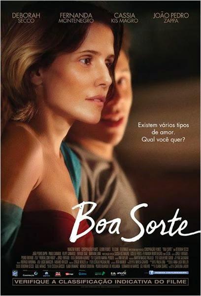 "Poster do filme ""Boa Sorte"""