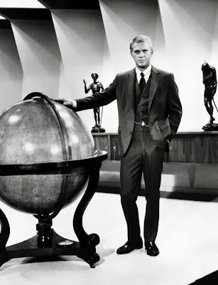 """The Thomas Crown Affair"", Norman Jewison-Helmed, Steve McQueen, Patek Philippe, Douglas Hayward, Savile Row,"