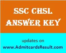 SSC LDC Answer key