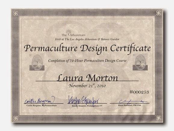 landscape certification landscaping