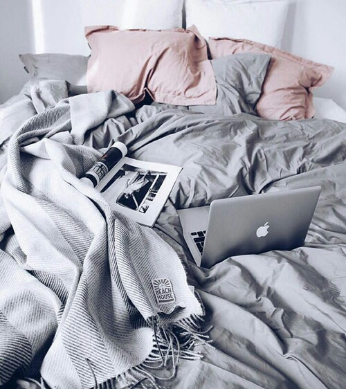thought catalog, bed, mac