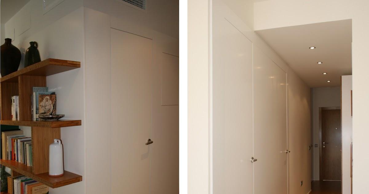 Puertas de madera invisibles Espacios en madera