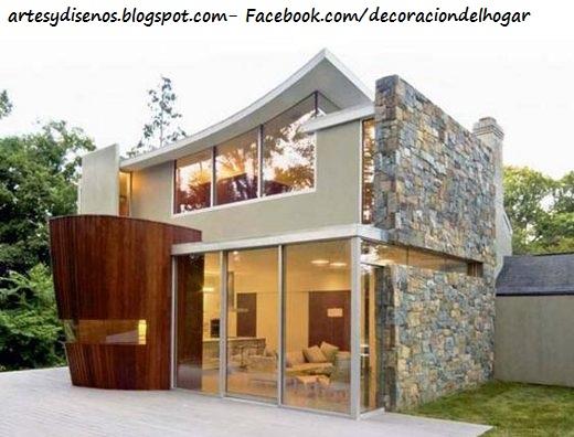 Fachadas de piedra para casas decoraci n del hogar - Piedra para fachadas de casas ...