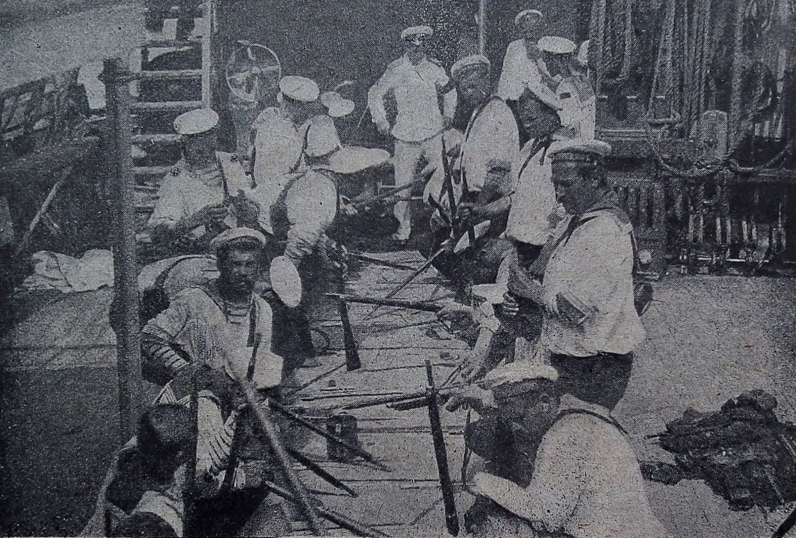 an overview of the infamous russo japanese war between 1904 and 1905 Russia against japan, 1904-05: the russo-japanese war of 1904 is nearly forgotten today the russian reserves mutinied on their way home during the 1905 uprising.
