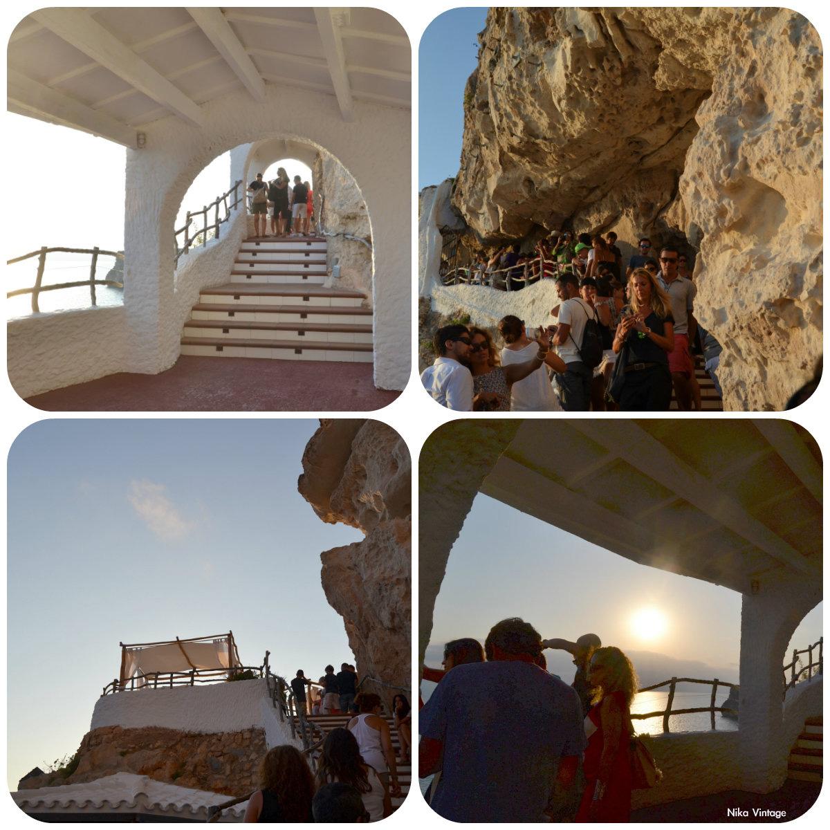 Menorca, zonas, terrazas, vistas, Cova d'en Xoroi, Cueva, Xoroi, Cala´n Porter, chill out