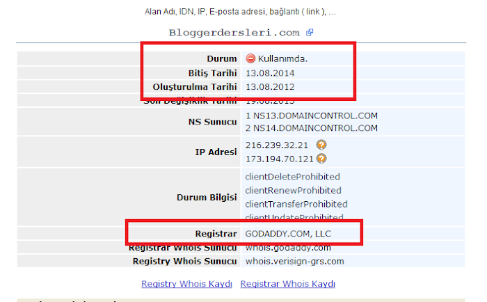 Domain Prosedürü ve Domain Düşme