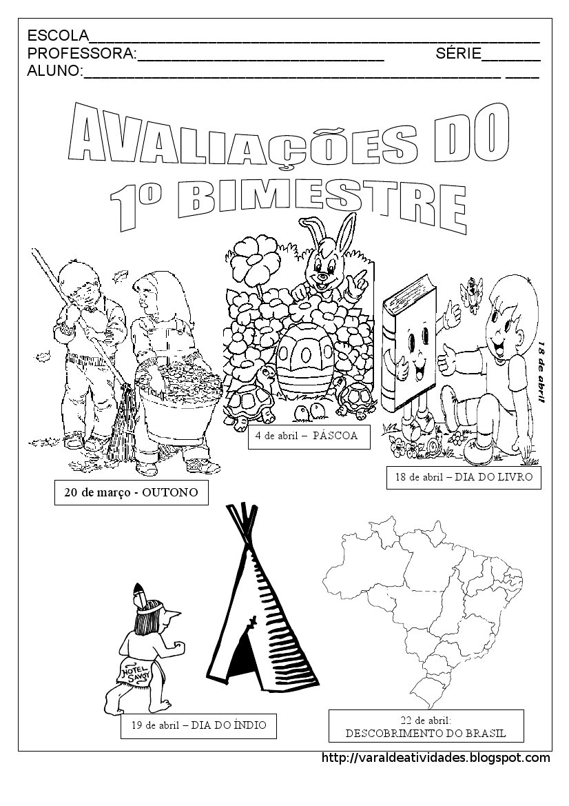 CAPA DE AVALIA    O 1   BIMESTRE