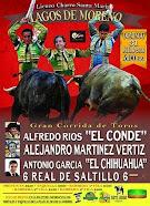 Anuncian a El Conde. Vertiz y El Chihuahua en Lagos de Moreno, el 31/07.