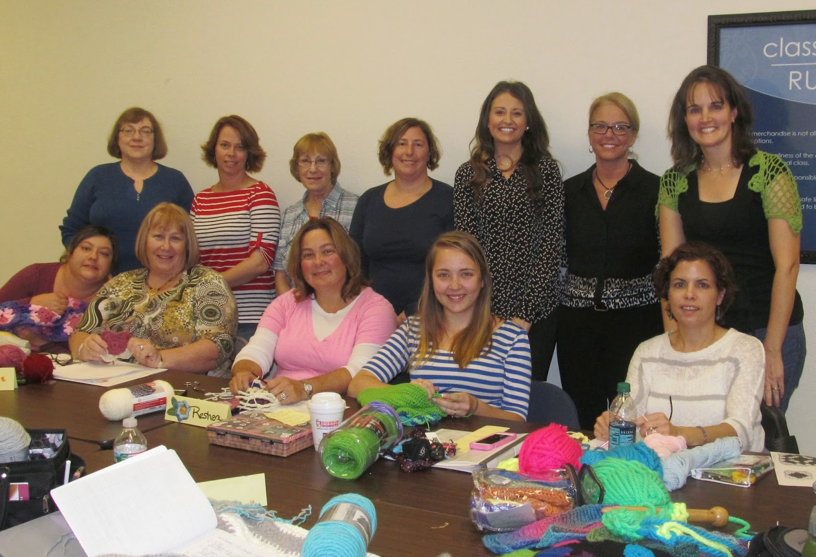 Crocheting Classes : Celtic Knot Crochet: Ladies Night Out Crochet Class