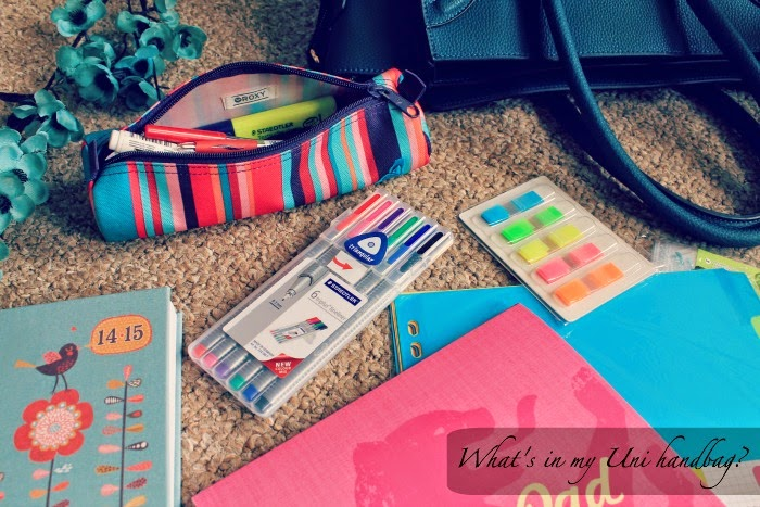 What's in my University Handbag?