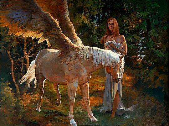 Destacado. Pintura, fantasía e ilustración de Julie Bell