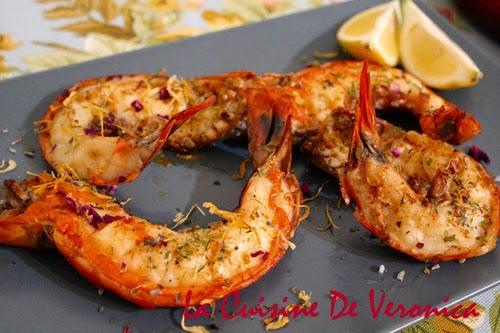 La Cuisine De Veronica 香煎巨型大鬼蝦
