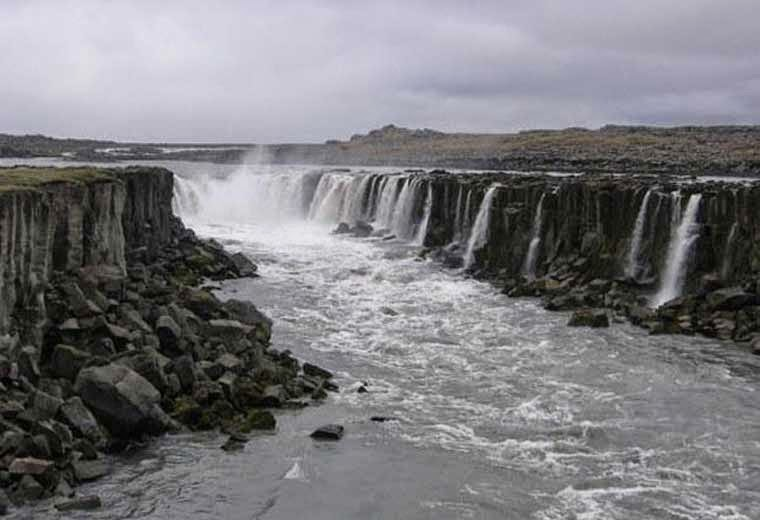 As maiores cachoeiras do mundo-Dettifoss