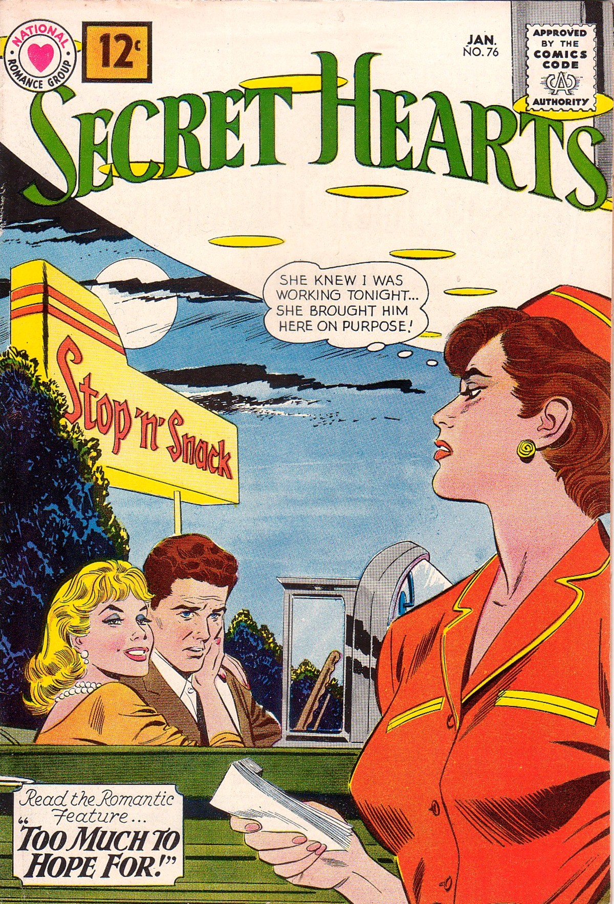 Read online Secret Hearts comic -  Issue #76 - 1