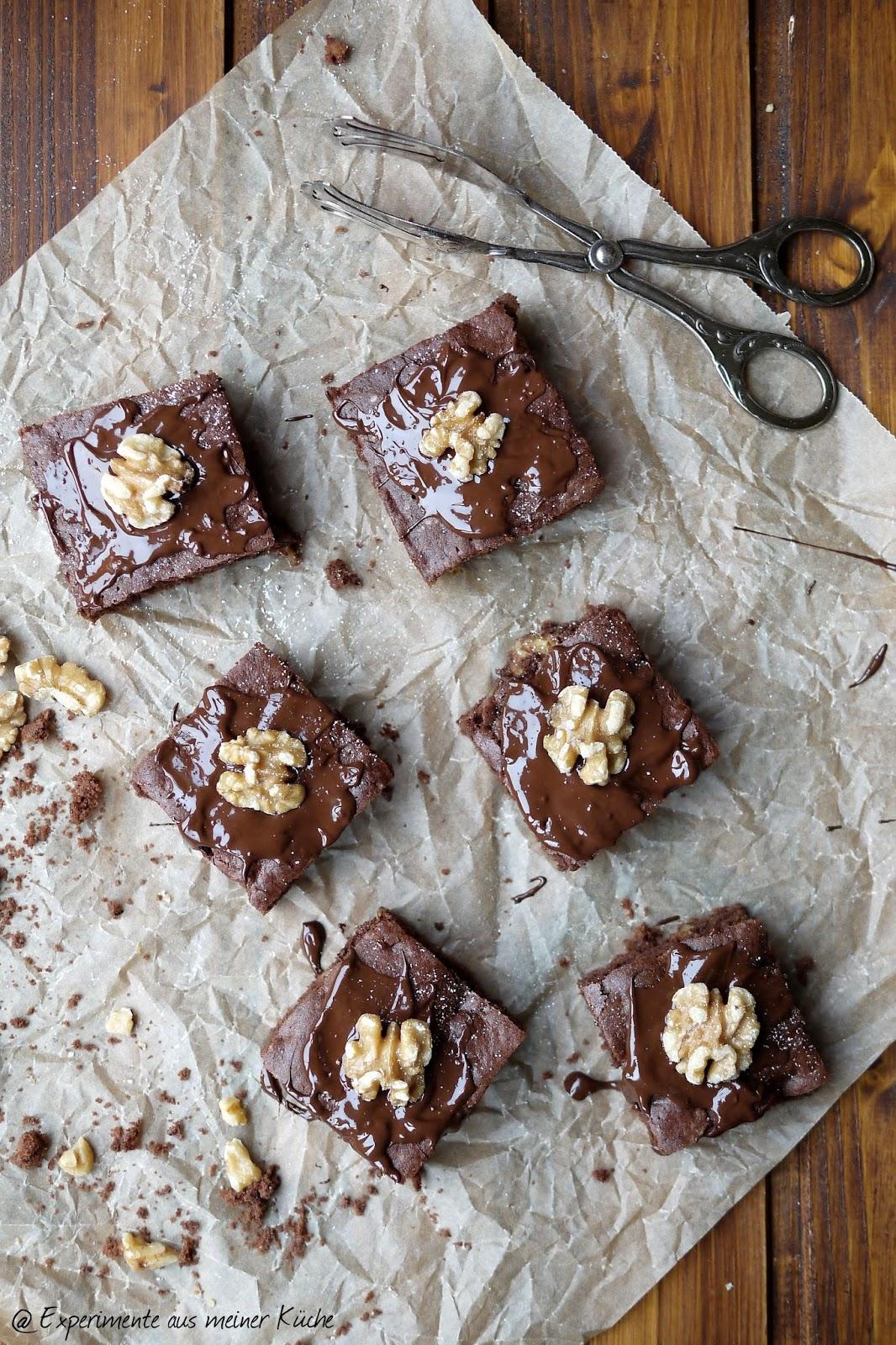 Experimente aus meiner Küche: Schoko-Gewürzschnitten mit Walnüssen