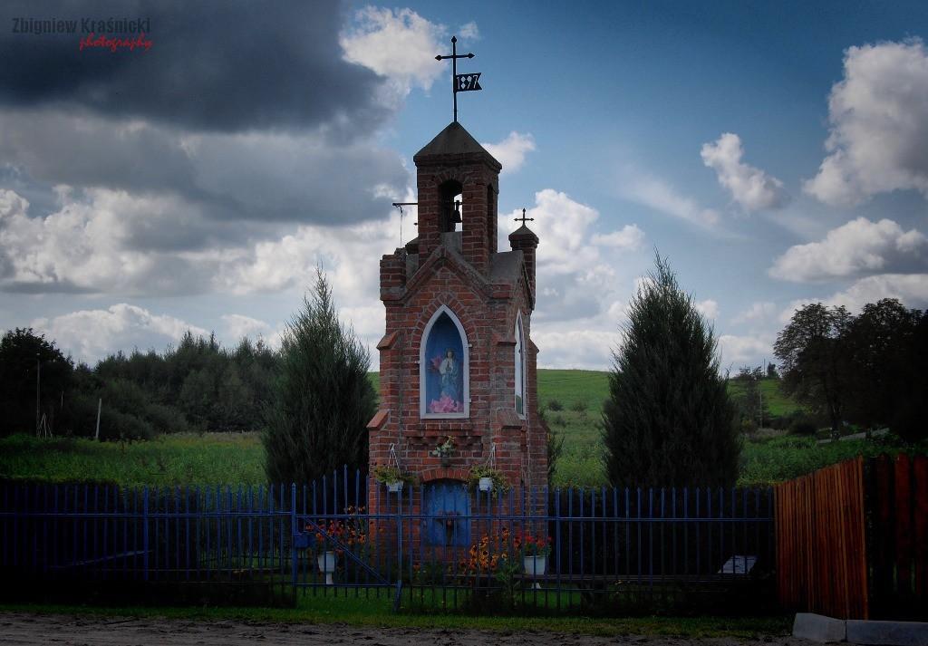 Kapliczka warmińska w Skajbotach