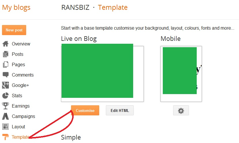 HOw To Add Adsense Code Below or above related post on Blogger - RANSBIZ