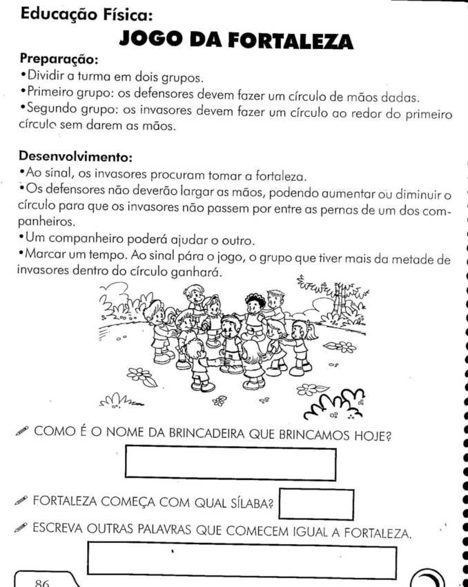 Preferência EDUCAÇÃO FÍSICA - 45 ATIVIDADES EXERCÍCIOS DESENHOS COLORIR  EW86