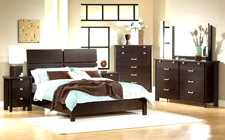 Simple Bedroom Ideas Gorgeous Of Bedroom with Dark Furniture Wall Color Ideas Picture