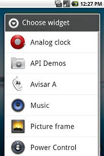 Avisar A Widget: Mi segunda aplicación Android