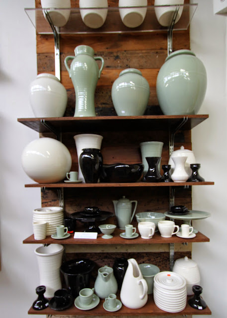 Bauer Pottery Showroom, 3051 Rosslyn St., Los Angeles, CA