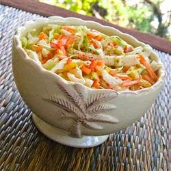 Maryland Sweet and Spicy Coleslaw
