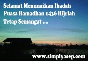 Banner Ramadhan 1436 Hijriah