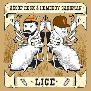 Aesop Rock & Homeboy Sandman - LICE EP [FREE]