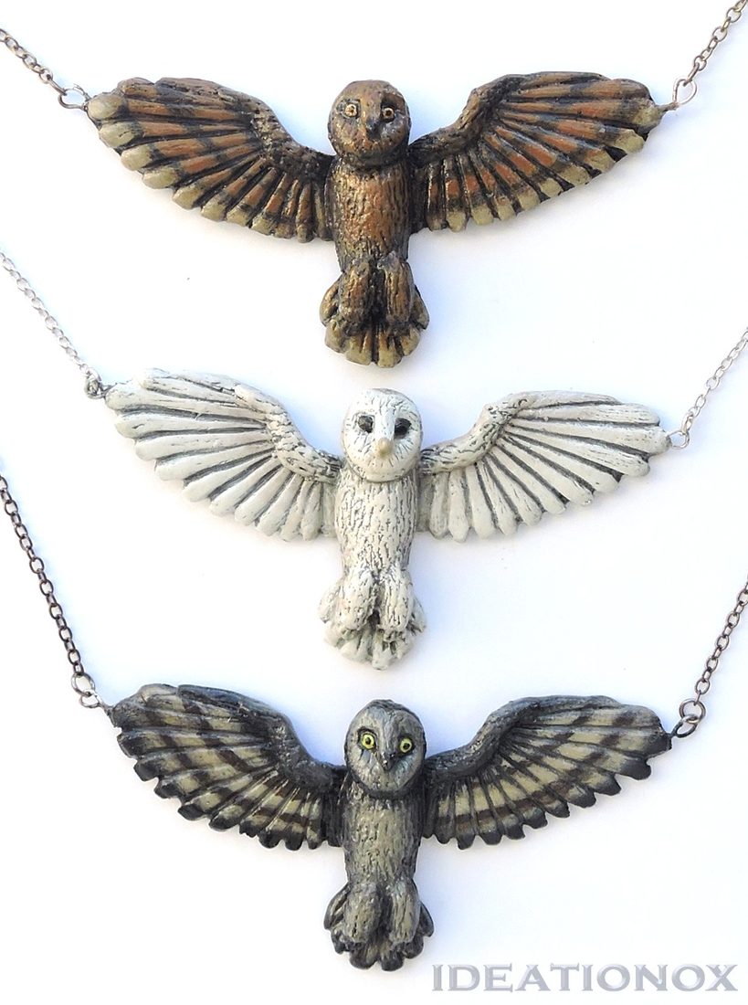 10-Barn-Owl-Necklace-Alyson-Tabbitha-IDEATIONOX-Labyrinth-Fan-Art-Dolls-Statues-and-Jewelry-www-designstack-co