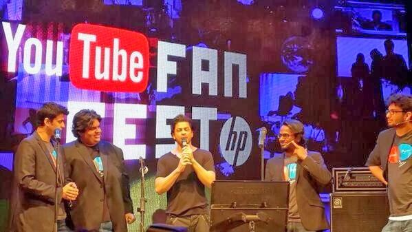 SRK at Youtube FanFest 2014