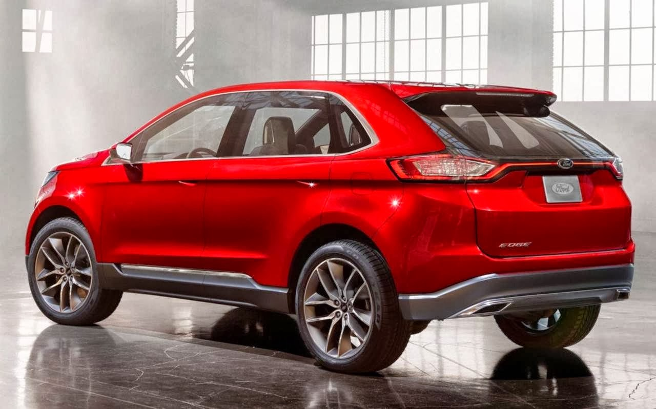 Novo Ford Edge 2015 avança ao dispor de uma série de novos
