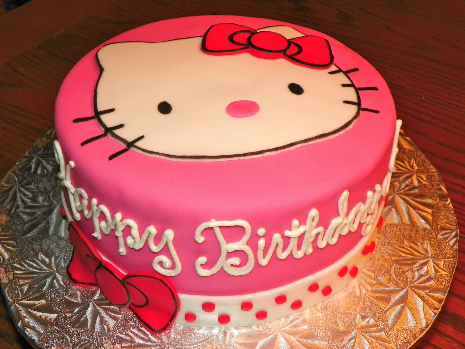 Plumeria Cake Studio Hello Kitty Face Cake
