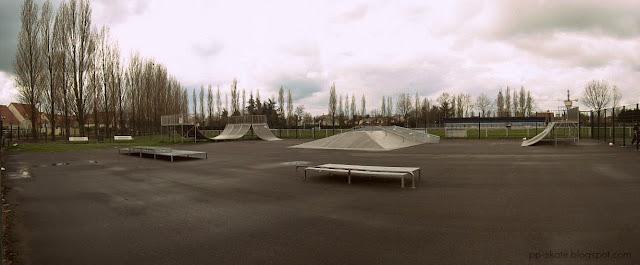 Skate park bondoufle