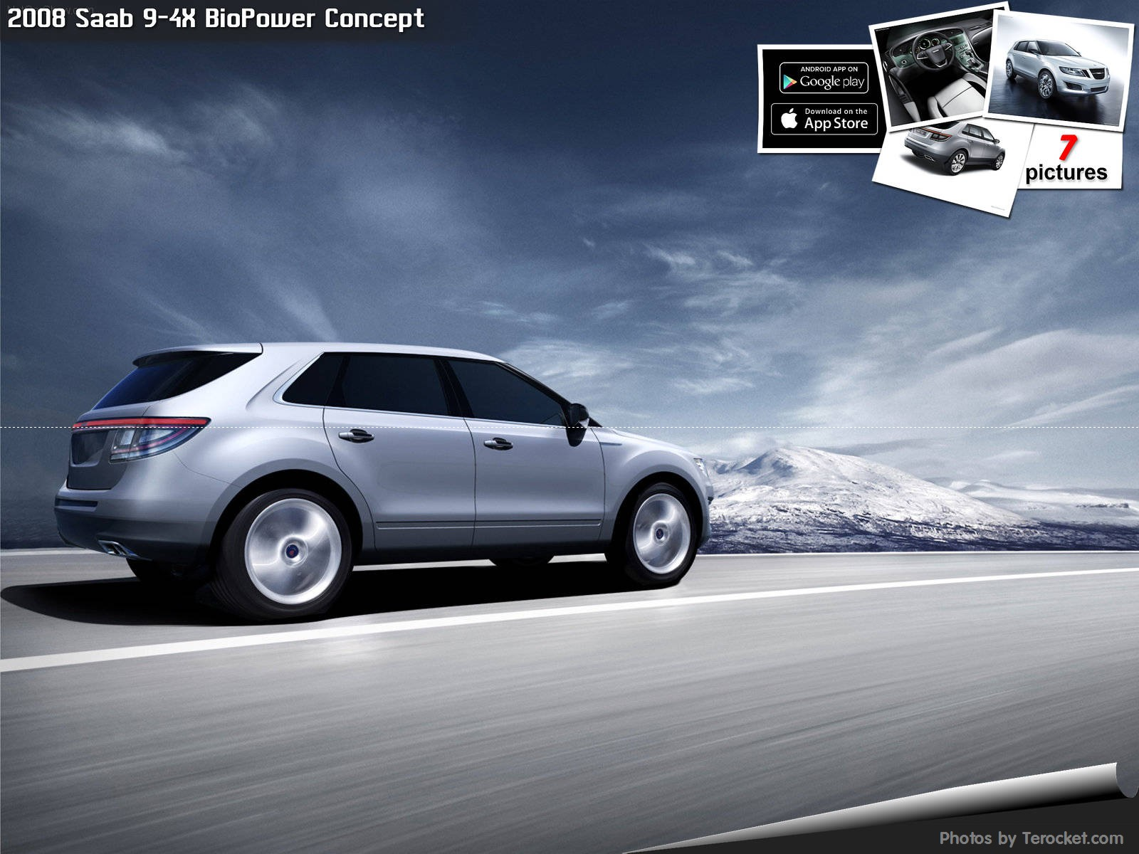 Hình ảnh xe ô tô Saab 9-4X BioPower Concept 2008 & nội ngoại thất