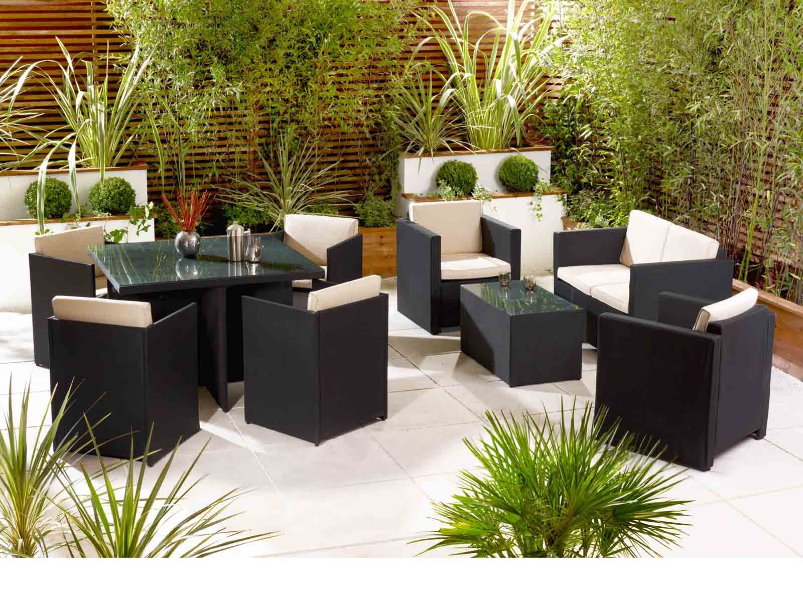 Landfair on Furniture Rattan Is Not Just For Indoors
