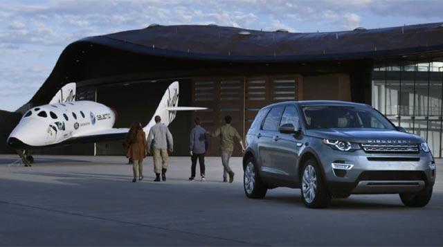 Asociación Land Rover y Virgin Galactic