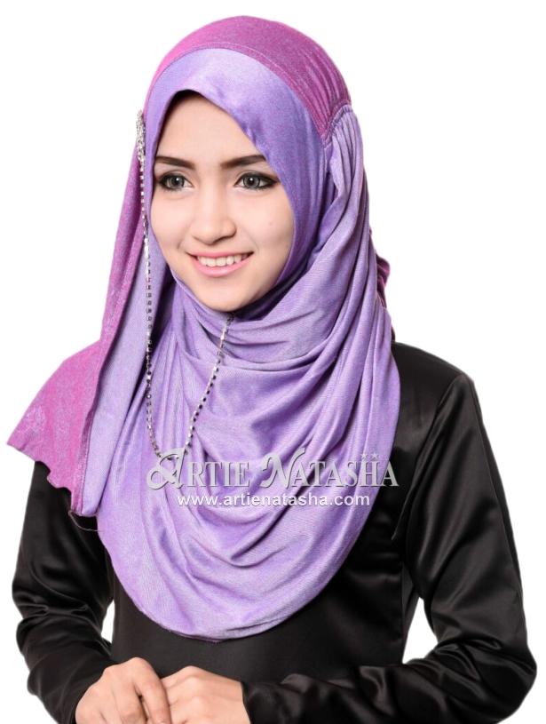 tudung instant shawl desain terkini terbaru