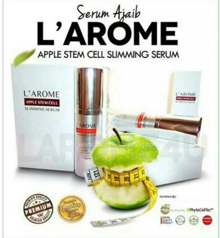 L'AROME APPLE STEM CELL SLIMMING SERUM