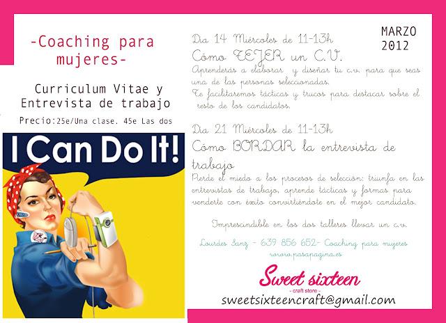 taller de coaching para mujeres
