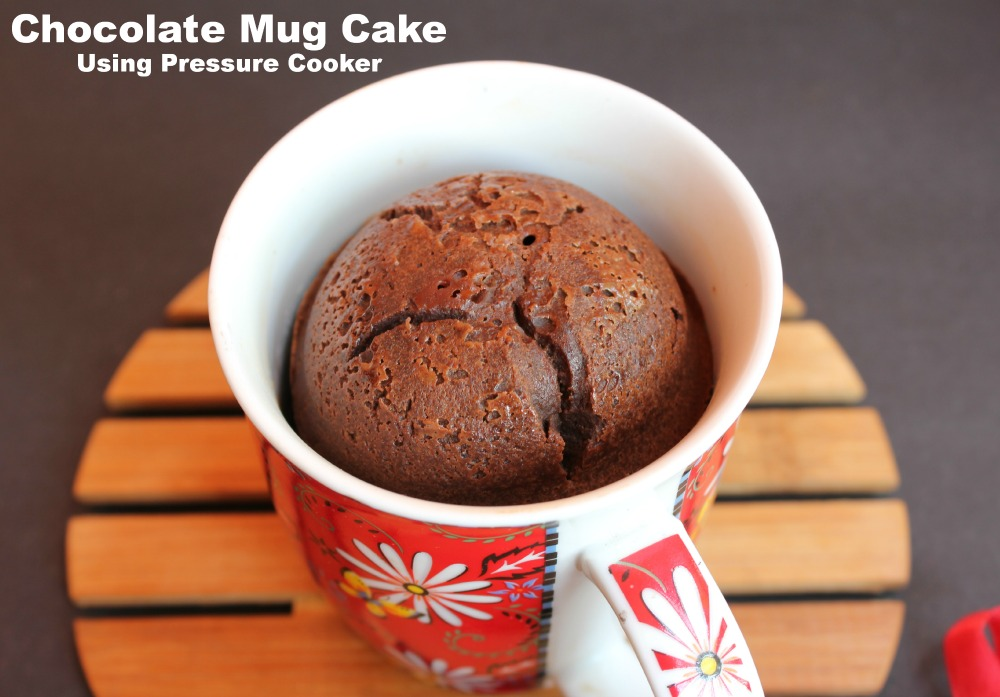 Chocolate mug cake using pressure cooker christmas desserts christmas forumfinder Image collections