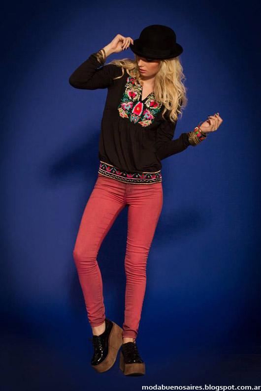 Sophya moda blusas invierno 2014. Moda invierno 2014.