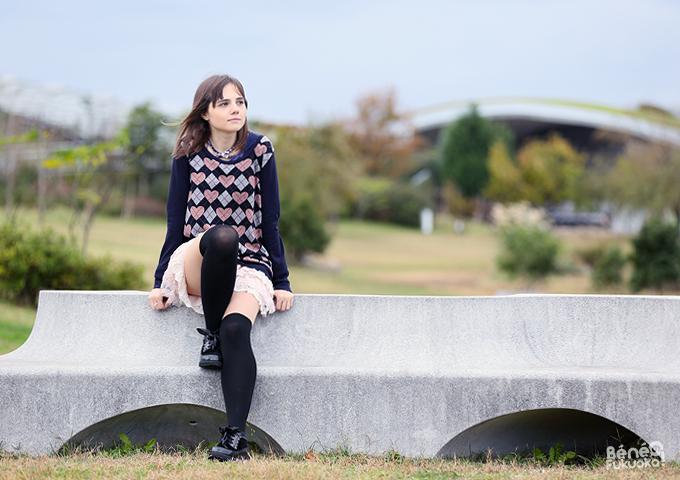 Bénédicte Charré - Béné no Fukuoka !