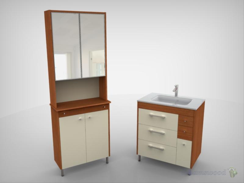 Dreamswood mueble de lavabo for Mueble kansas