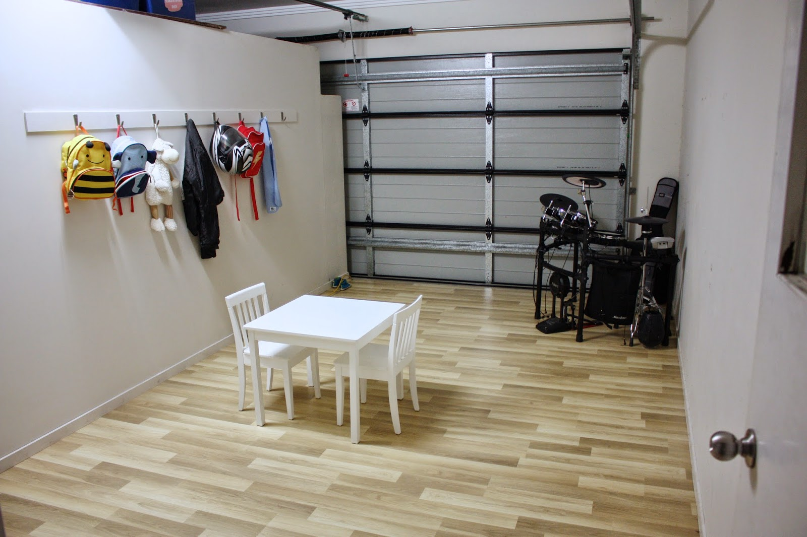 Putting A Playroom In The Garage.