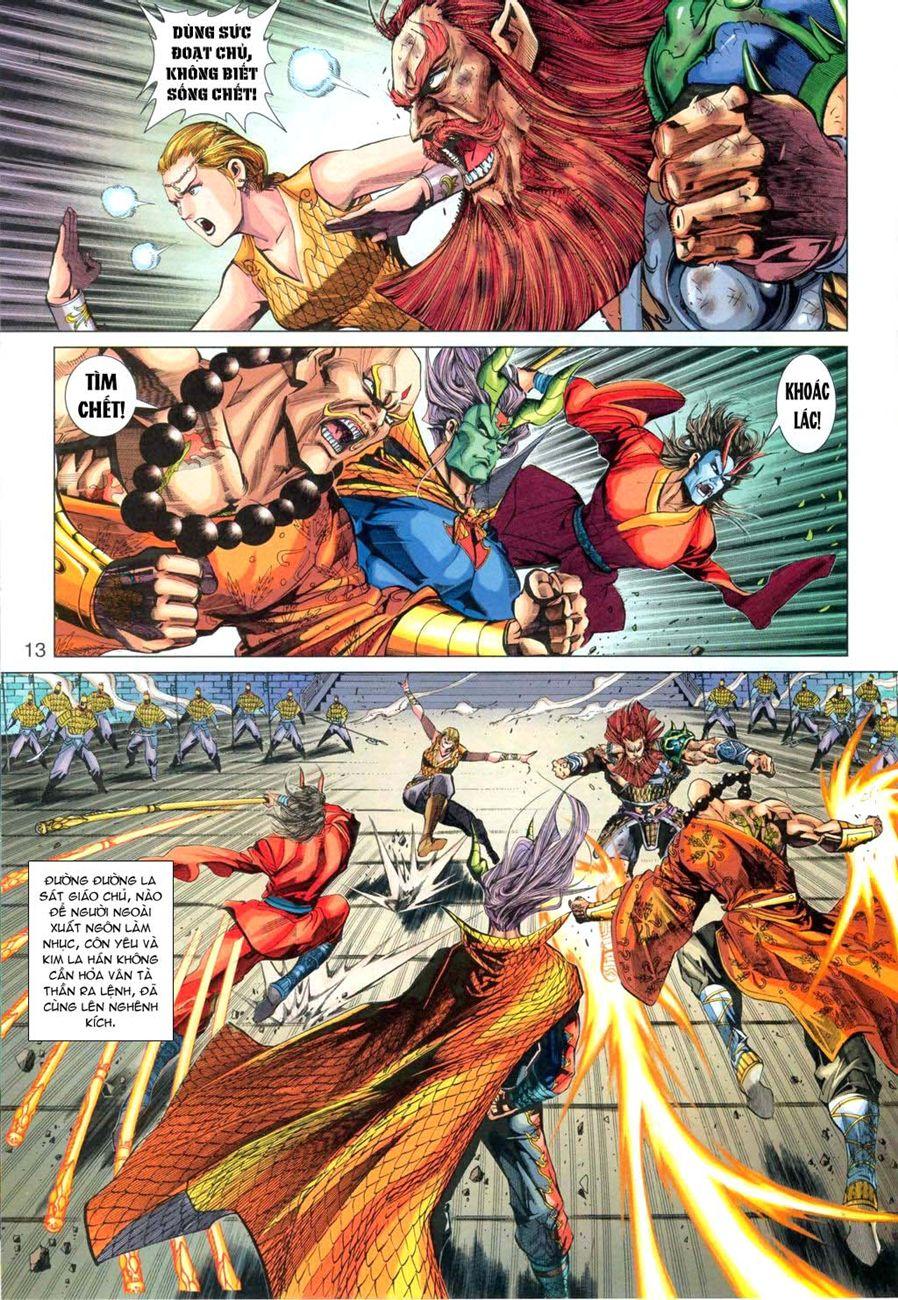 Tân Tác Long Hổ Môn chap 291 - Trang 13