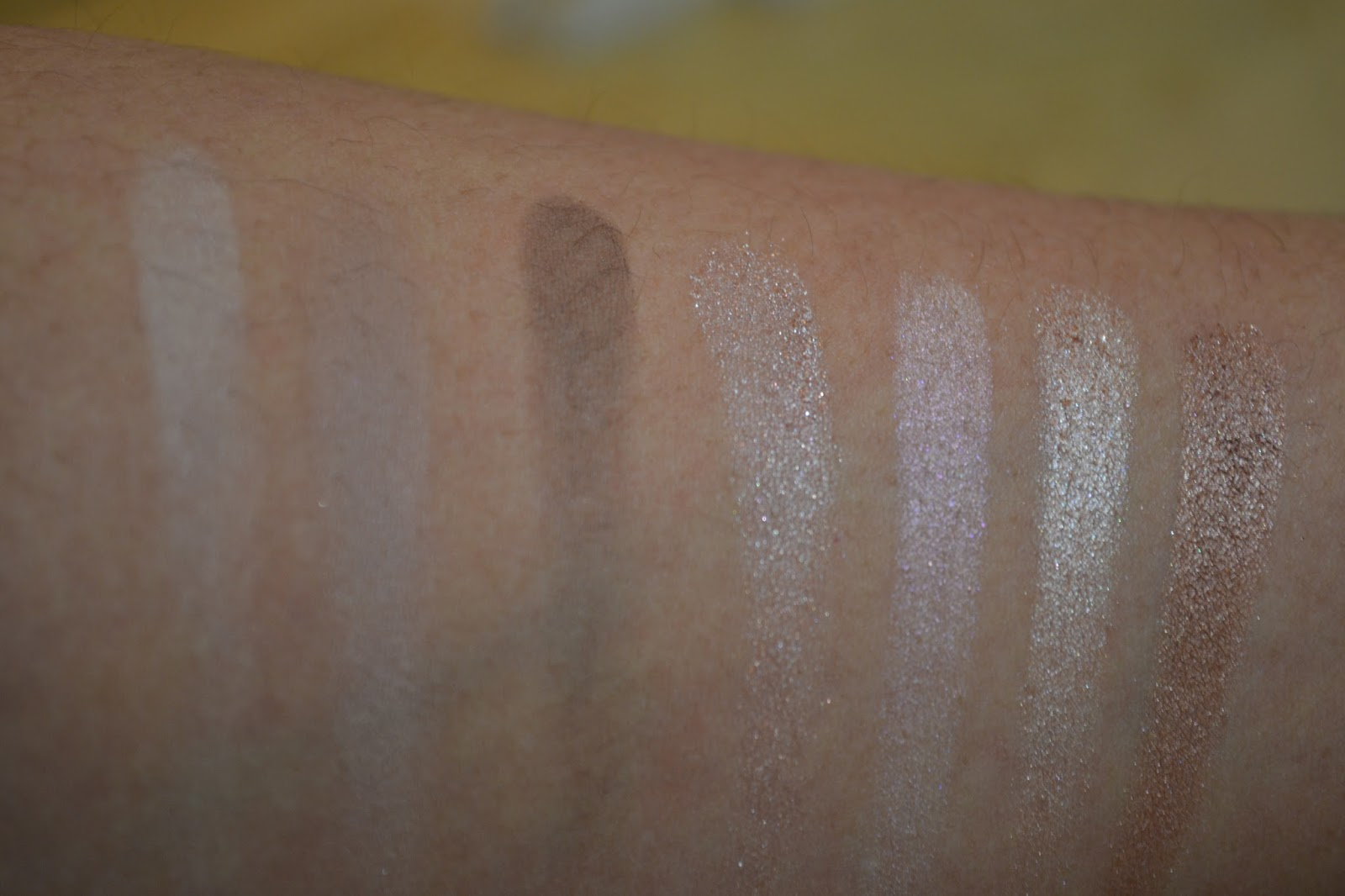 Marc Jacobs' The Lolita Palette swatches