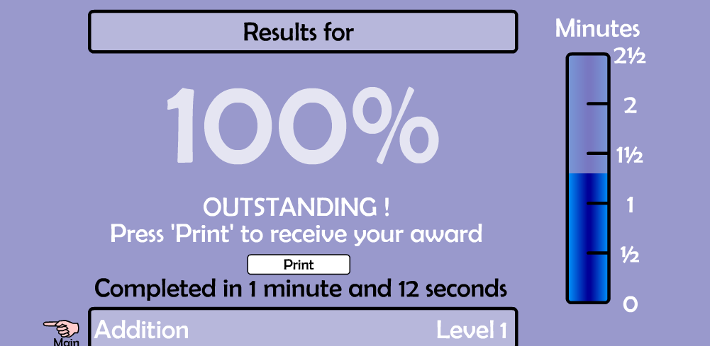 Anthony : My maths magician result.