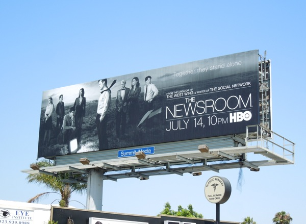 The Newsroom season 2 billboard