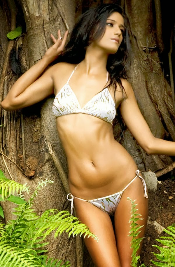 Poonam Pandey hot navel hd wallpapers in bikini